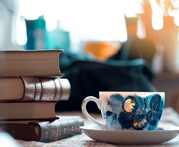"Image: ""Coffee and Books"" 